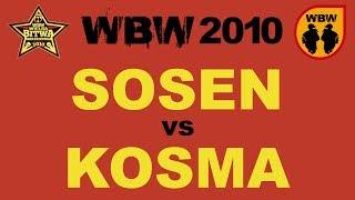 bitwa SOSEN vs KOSMA # WBW 2010 el.3 # freestyle battle