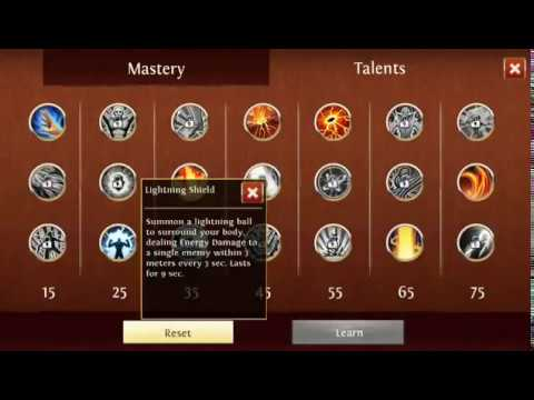 Order & Chaos Online : Ele Mage Pve Dps Talents And Rotation
