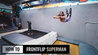 How To Superman Frontflip On Skis