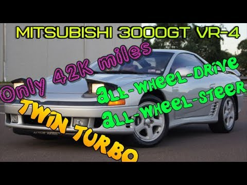 Review for 1992 mitsubishi 3000gt vr 4 twin turbo 5 speed manual review for 1992 mitsubishi 3000gt vr 4 twin turbo 5 speed manual test drive vr4 sciox Image collections