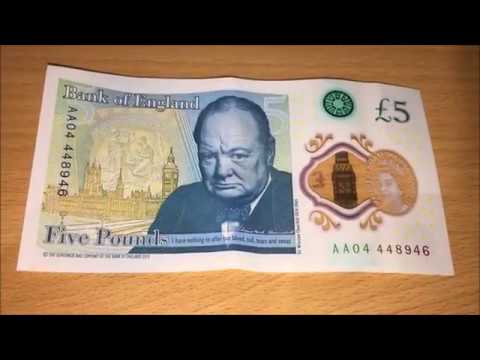 Limited Edition £5 Notes Worth £Thousands!