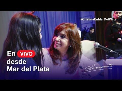 En vivo desde Mar del Plata, nueva presentación de #Sinceramente