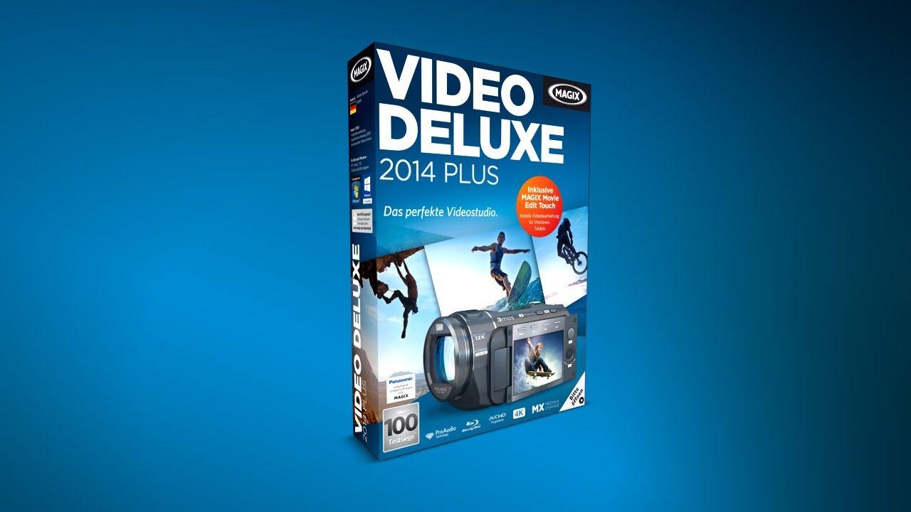 magix video deluxe 2014 plus de win ab 49 90 preisvergleich bei. Black Bedroom Furniture Sets. Home Design Ideas