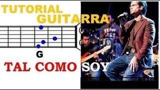 (131) Tal Como Soy - TUTORIAL GUITARRA (Jesus Adrian Romero) - ACORDES FACILES