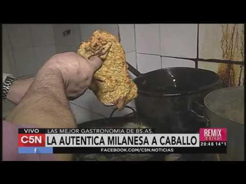 C5N - Gastronomía: las mejores milanesas y papas fritas de la noche porteña