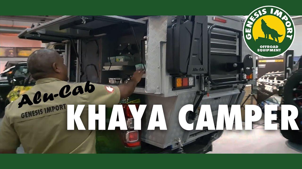 AluCab Khaya Camper  YouTube