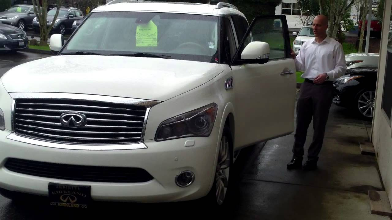2012 infiniti qx56 tech package review in 3 minutes you 39 ll be an expert on the tech package. Black Bedroom Furniture Sets. Home Design Ideas