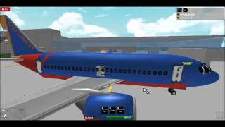 Southwest plane crash-ROBLOX