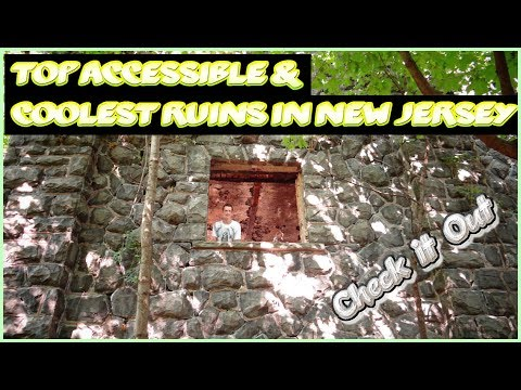 Top Accessible & Coolest Ruins In New Jersey