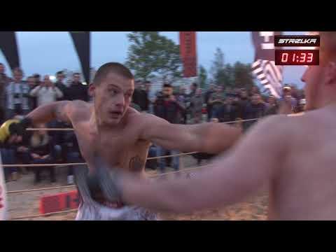AXE run into Crazy MMA Fighter 264lbs.