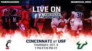 American Digital Network Women's Soccer - Cincinnati at USF