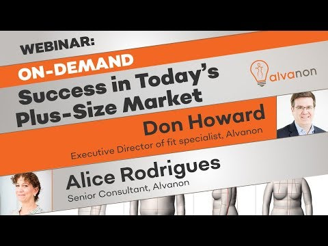 Webinar on-demand: Success in Today's Plus-Size Market