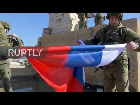 Syria: Russian Troops Enter Former US Army Base In Raqqa Province