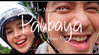 Paubaya Music Video [Behind The Scenes] : The Story Of Paubaya by Moira Dela Torre ❄