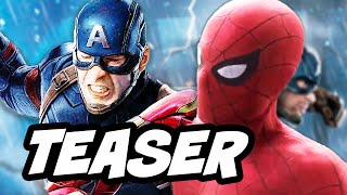 Captain America Civil War Spider Man Teaser Breakdown