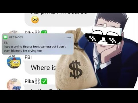 Leorio Rob a Bank?! HxH texts