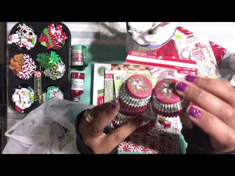2017 Christmas Craft Haul - Michael's Store 🎄 Tuesday Morning - Scrapbook Collective Haul Video