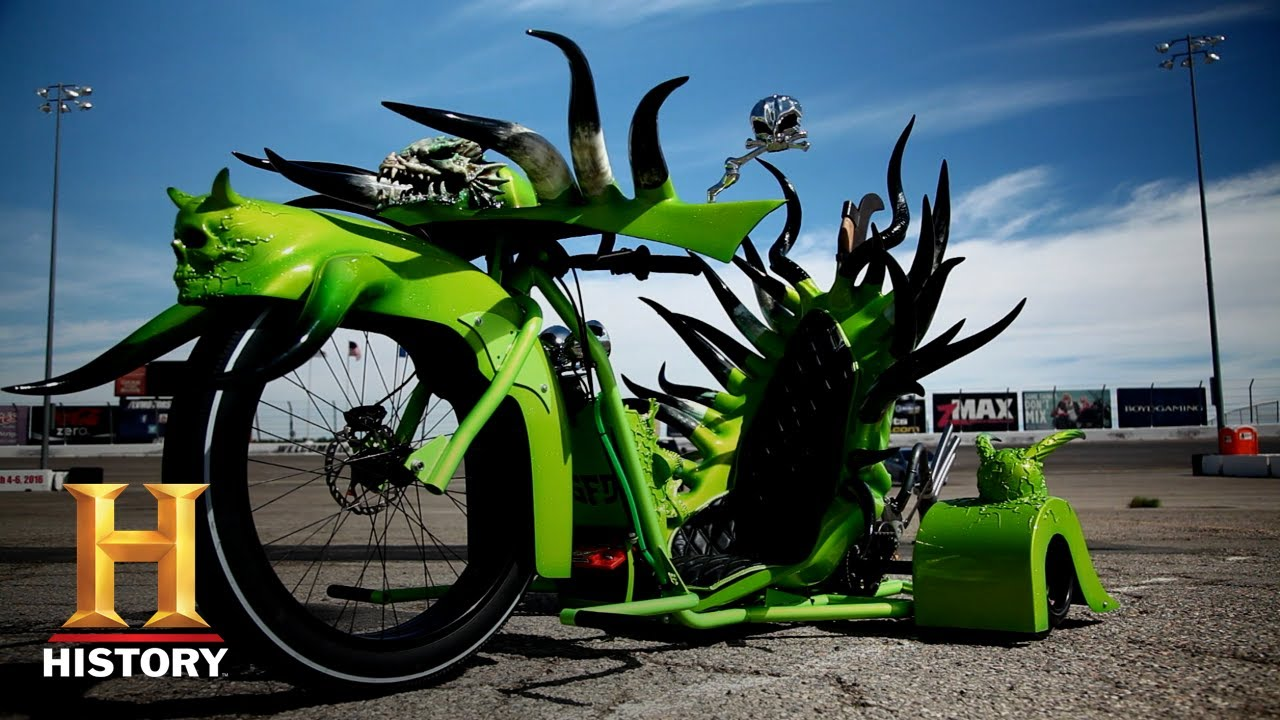 Download Counting Cars: MONSTER TRIKE BIKE Race to the Finish Line (Season 5) | History