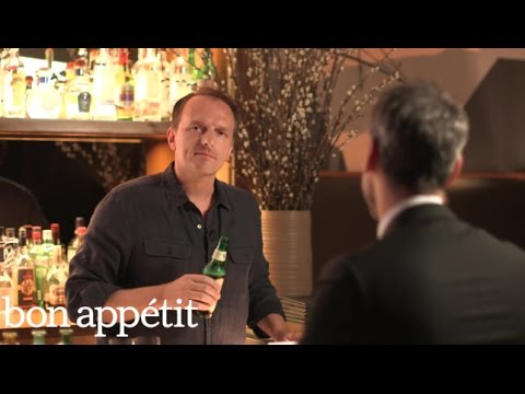 Shot and a Beer With Andrew Carmellini
