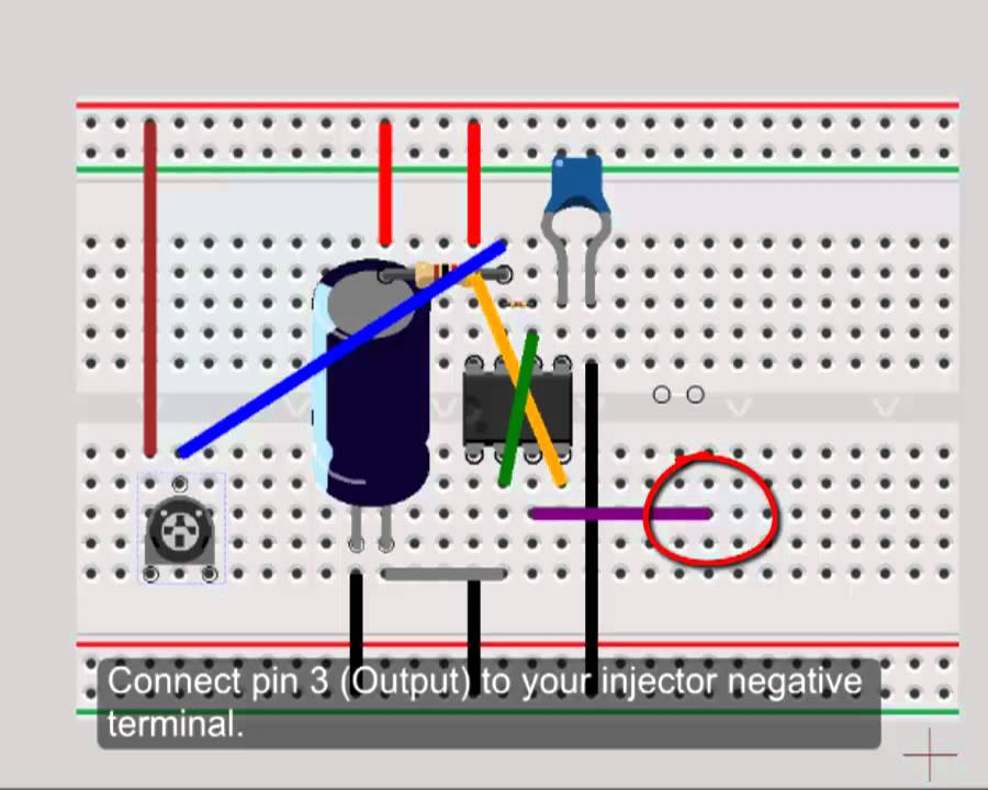 simple fuel injector driver tutorial