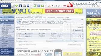 GMX Free Mail - Die erste Benutzung