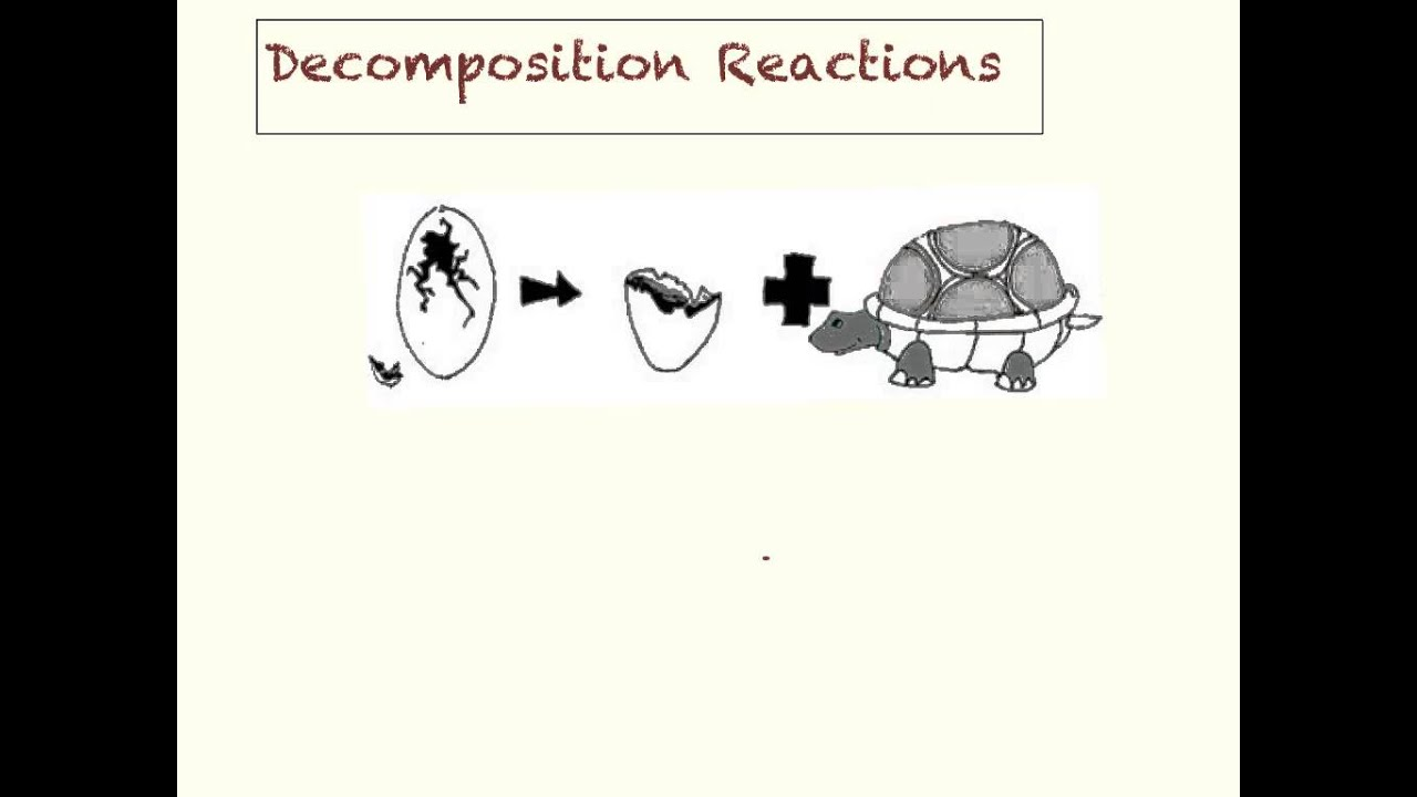 Synthesis and Decomposition Reactions YouTube – Decomposition Reactions Worksheet