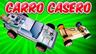 Como Hacer un Auto a Motor Eléctrico Casero (Delorean Casero)