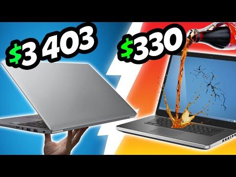 Broke vs Pro Gaming Laptop