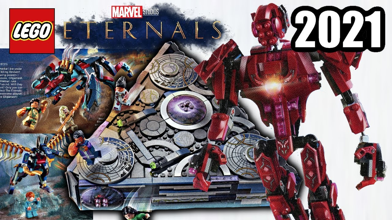 Download LEGO Marvel 2021 Eternals sets!? FULL THOUGHTS! Creepy, crazy, and GREAT!