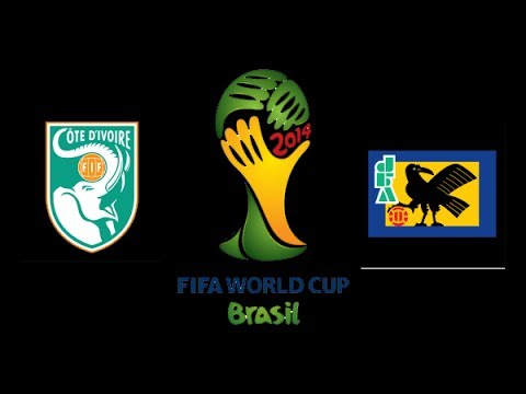 Cote D'ivoire VS Japan 2-1 Goals&Highlights World Cup 2014