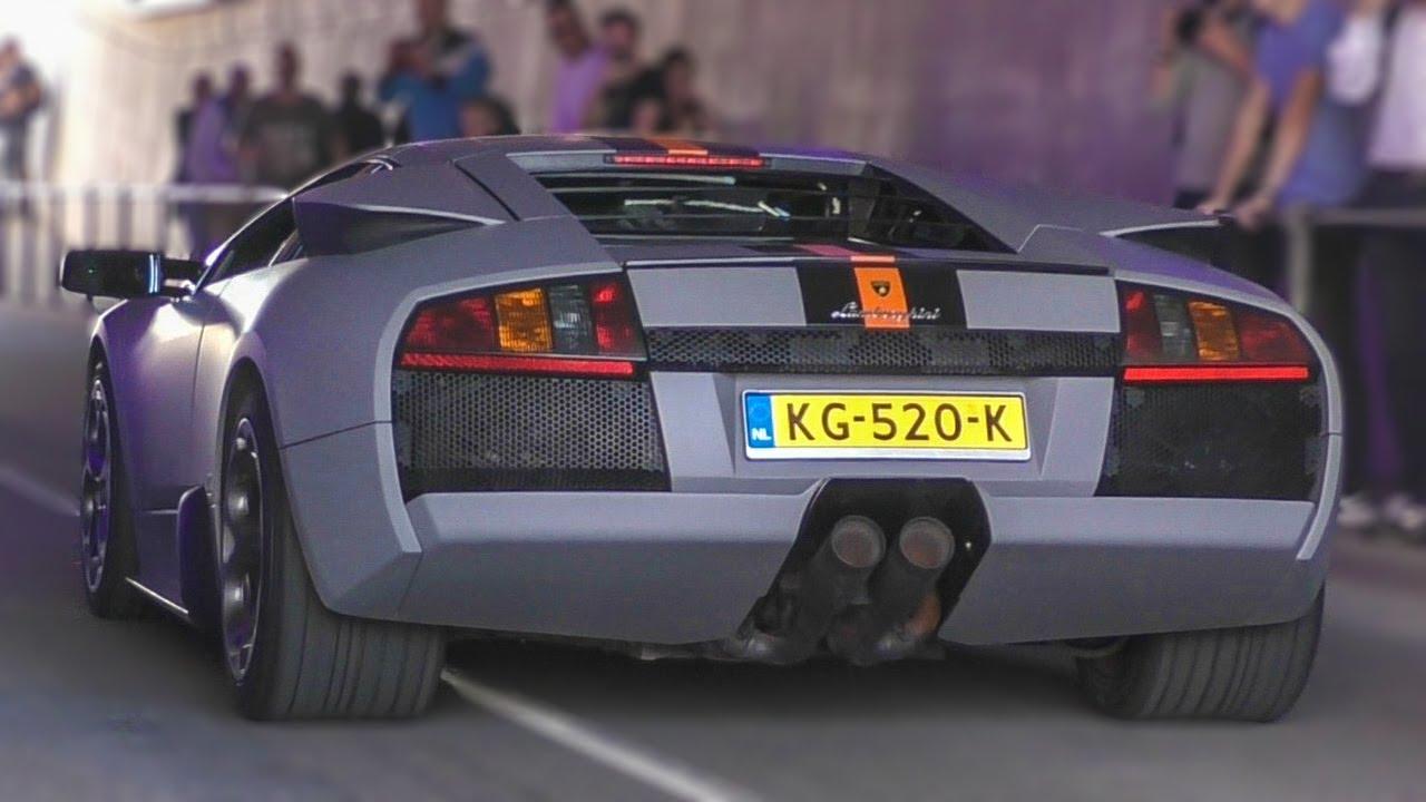Lamborghini Murcielago Pure V12 Engine Sounds Youtube