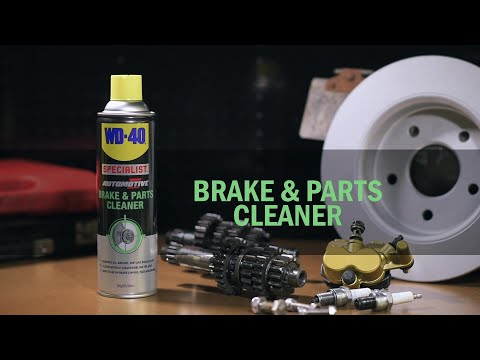 Brake and Parts Cleaner - WD-40 Specialist Automotive Range