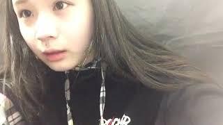 프로듀스48에 출연했던 아라마키 미사키(荒巻美咲)의 2018년 10월 27일...