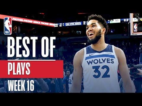 NBAs Best Plays | Week 16