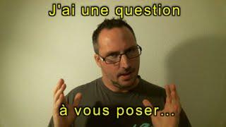 Question à mes abonné(e)s sur mon prochain jeux...