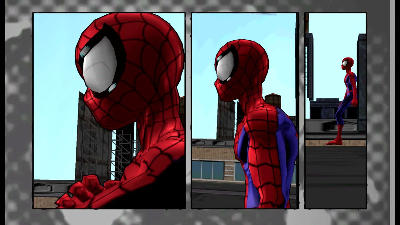 Ultimate Spider-Man - Bounding Box Fixes Demonstration
