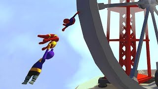 Thanos Destroys His Friendships in Human Fall Flat - New Map Update