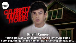 Khalil Ramos talks about their haunted house   Celebrity Katakot Stories