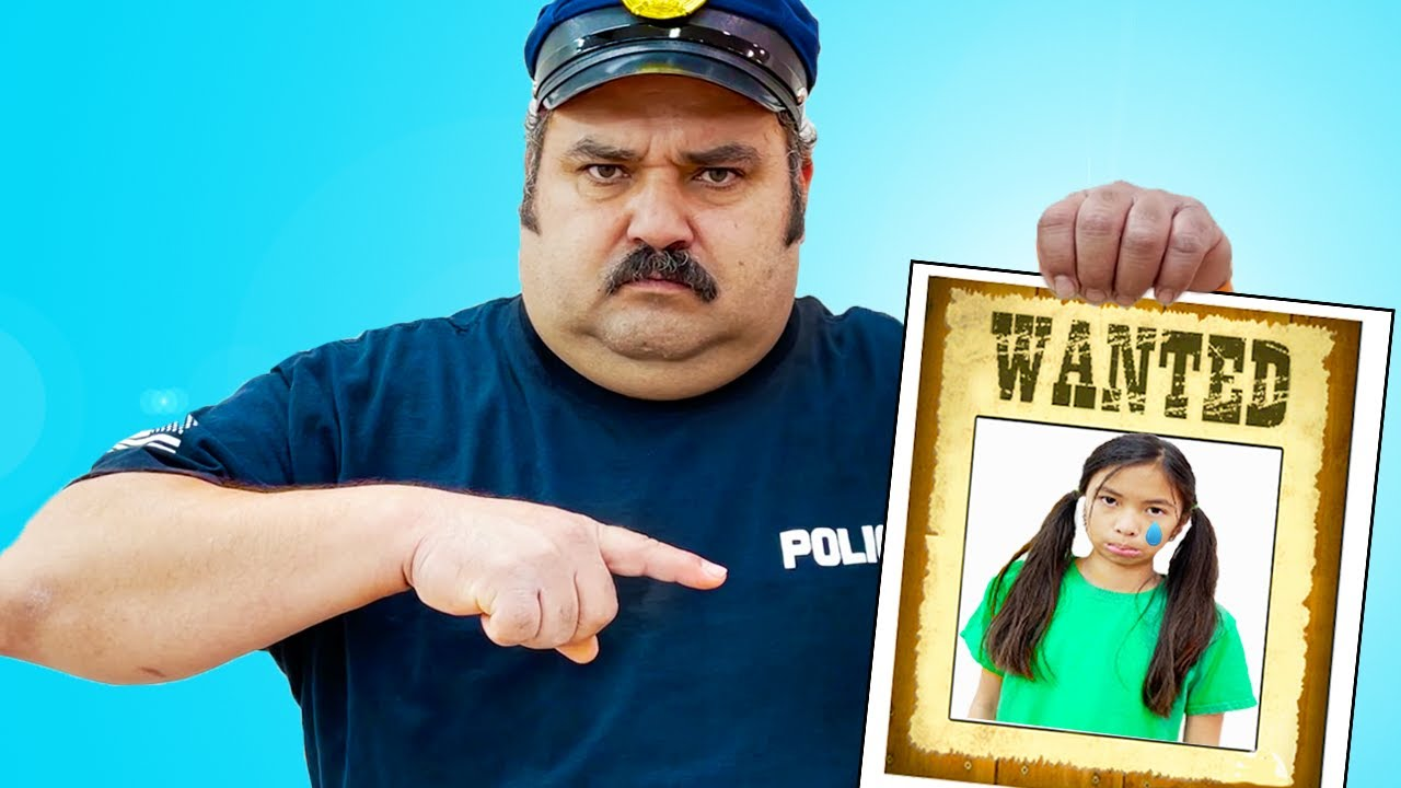 Download Wendy Pretend Play Funny Police Chase Story for Kids | Costume Dress Up Video for Children