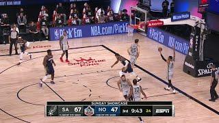 4th Quarter, One Box Video: New Orleans Pelicans vs. San Antonio Spurs