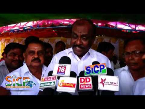 OPS supporters observe fast Natham R Viswanathan Interview