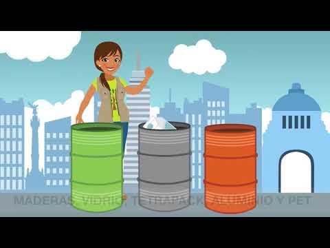 Separación de residuos- Nueva Norma Ambiental NADF-024 / Correcta separación de la basura