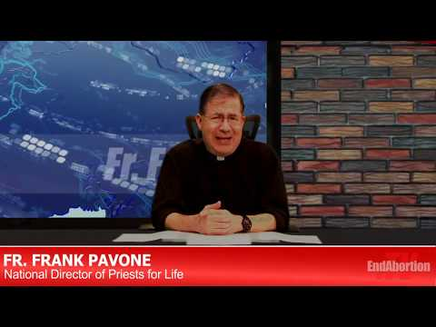 9pm Tonight: Fr Frank Pavone Live