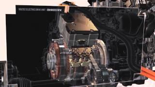 Новый Электропривод Электромобиля-гибрида Шевроле Вольт на 45 кг легче