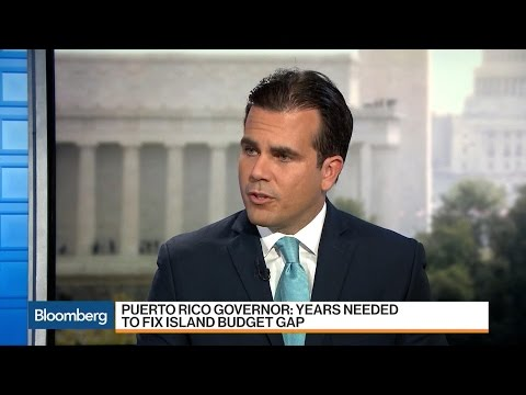 Puerto Rico Governor on Budget Gap, Creditor Negotiations
