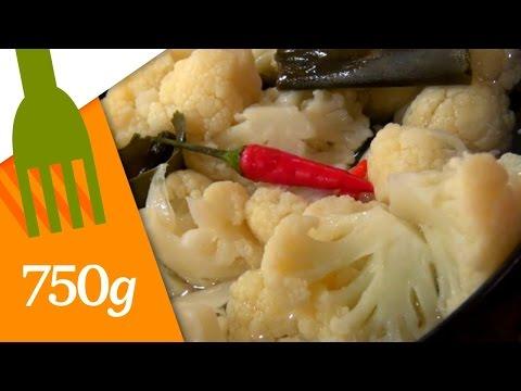 recette-de-chou-fleur-à-l'aigre-douce---750g