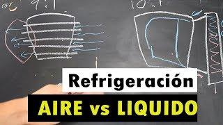 Refrigeración líquida vs aire en motos o carros YouTube Videos