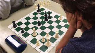 """Beautiful Poison Pawn Checkmate! Andy """"The Annihilator"""" vs. Karim """"The L.A. Prince"""""""