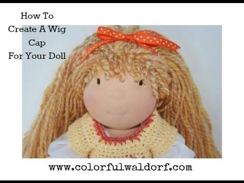 How To Make Amigurumi Hair: Wig Method | Crochet dolls, Crochet ... | 360x480