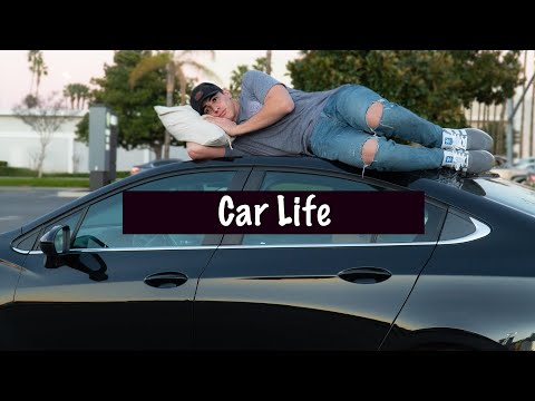 Living in my Chevy Cruze: Sleeping in my car!